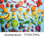 creative composition made of... | Shutterstock . vector #771917941