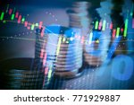 financial accounting of profit... | Shutterstock . vector #771929887