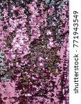 sequins close up macro.... | Shutterstock . vector #771943549