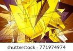 gold beautiful illustration...   Shutterstock . vector #771974974