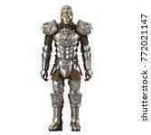 A Lion Full Body Armor Suit...