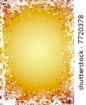 gold christmas background... | Shutterstock .eps vector #7720378