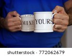 yours and mine | Shutterstock . vector #772062679