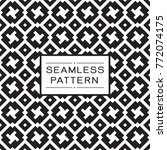 vector seamless pattern and... | Shutterstock .eps vector #772074175