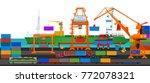 Transport Cargo Sea Ship...