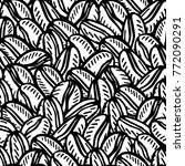 seamless pattern with coffee...   Shutterstock .eps vector #772090291