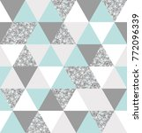 abstract seamless geometric... | Shutterstock .eps vector #772096339
