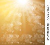 shining abstract golden...   Shutterstock .eps vector #772124614