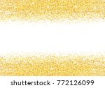 golden background with shiny... | Shutterstock .eps vector #772126099