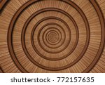 brown red real walnut wooden... | Shutterstock . vector #772157635