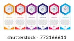 abstract infographics number... | Shutterstock .eps vector #772166611