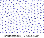 geometric pattern memphis style.... | Shutterstock .eps vector #772167604