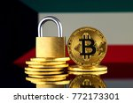 physical version of bitcoin ... | Shutterstock . vector #772173301