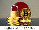 physical version of bitcoin ... | Shutterstock . vector #772173325