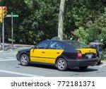 barcelona  catalonia  spain  es ... | Shutterstock . vector #772181371