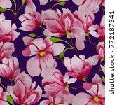 watercolor seamless pattern...   Shutterstock . vector #772187341