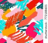 bright grunge geometric... | Shutterstock .eps vector #772188601