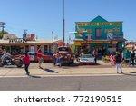 seligman   sep 25  the historic ... | Shutterstock . vector #772190515