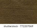 knitting wool texture... | Shutterstock . vector #772207069