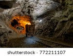 Small photo of spectacular zinc mine in disuse