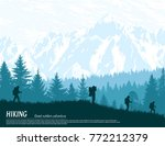 abstract background. forest... | Shutterstock .eps vector #772212379