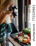 food photographer at work.... | Shutterstock . vector #772229851