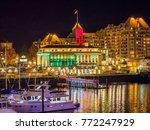 inner harbor of victoria bc ... | Shutterstock . vector #772247929