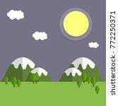 cartoon flat illustration  ... | Shutterstock .eps vector #772250371
