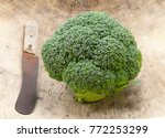 broccoli  the green power   Shutterstock . vector #772253299