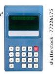 1970's Vintage Calculator On A...