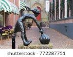 ootmarsum  netherlands  ... | Shutterstock . vector #772287751
