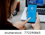 chiang mai thailand   dec 08 ... | Shutterstock . vector #772290865