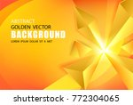 abstract triangle background.... | Shutterstock .eps vector #772304065