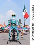 mexico city   november 02  2017 ... | Shutterstock . vector #772332661