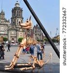 mexico city   november 02  2017 ... | Shutterstock . vector #772332667