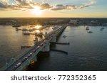 Aerial Image Of The Bridge Of...