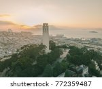 coit tower and san francisco... | Shutterstock . vector #772359487
