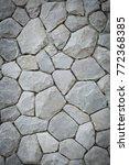 stone wall texture | Shutterstock . vector #772368385