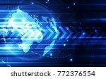 vector digital global...   Shutterstock .eps vector #772376554