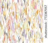 geometric mosaic pattern.... | Shutterstock .eps vector #772387057