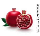 realistic detailed 3d red fresh ...   Shutterstock .eps vector #772390351