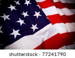 american flag | Shutterstock . vector #77241790