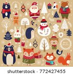 Christmas Collection With Cute...
