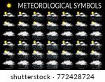 set of different weather icons  ...   Shutterstock .eps vector #772428724