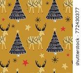 folk seamless pattern.... | Shutterstock .eps vector #772430377