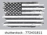 grunge american flag.vintage... | Shutterstock .eps vector #772431811