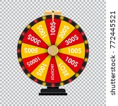 wheel of fortune  lucky icon... | Shutterstock .eps vector #772445521