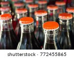 soft drinks in bottles... | Shutterstock . vector #772455865