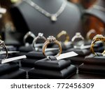 jewelry diamond rings and... | Shutterstock . vector #772456309