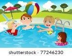 a vector illustration of a... | Shutterstock .eps vector #77246230